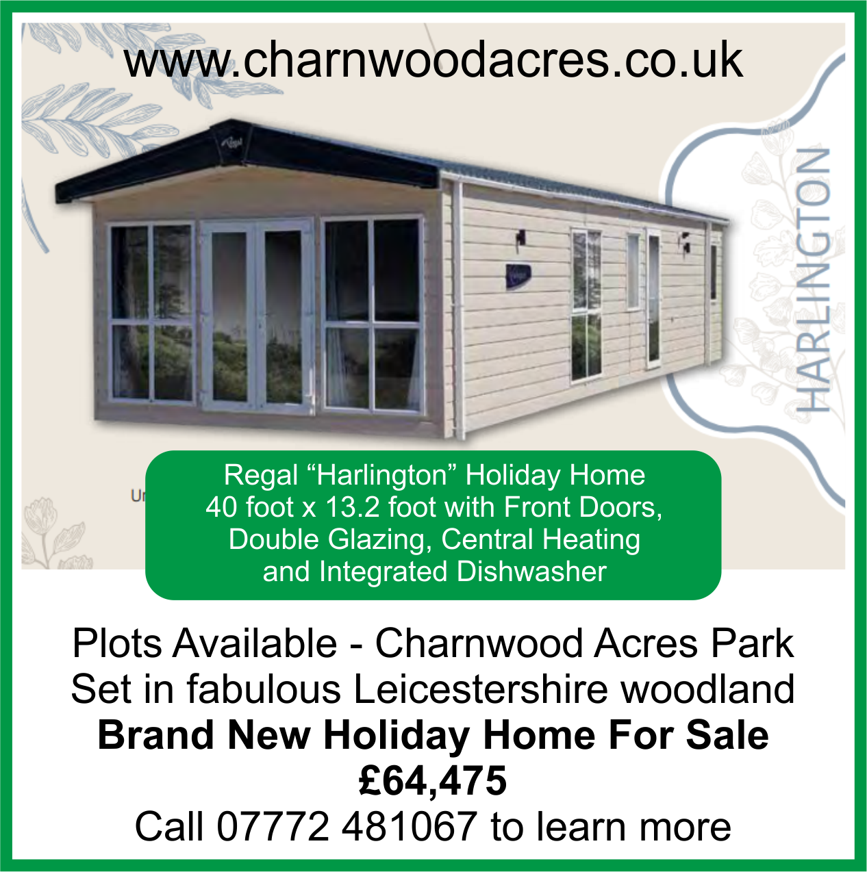 Charnwood - Harlington Home for sale