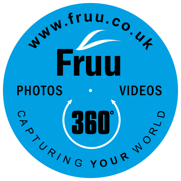 Fruu - 360 PHOTOS ROUNAL LOGO on clear