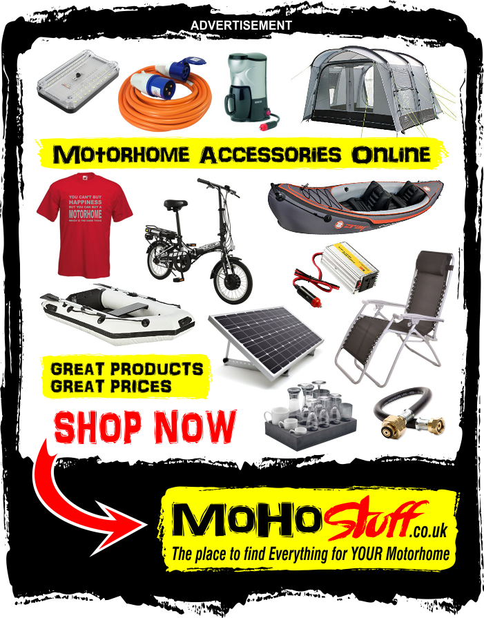 Motorhome accessory Shop online