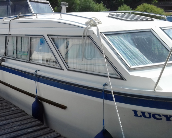 """Boat For Sale – """"LUCY RAY"""" £11,995"""