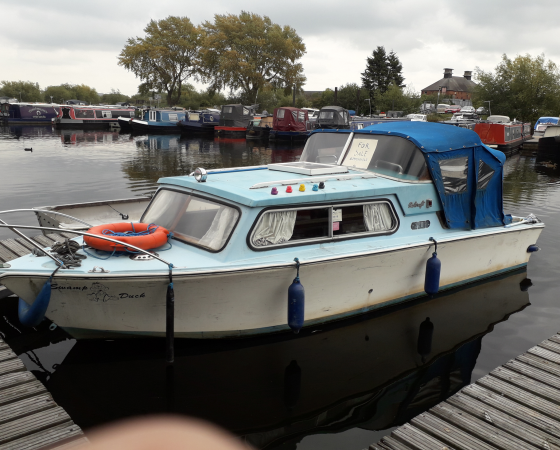 "Boat For Sale – ""SWAMP DUCK"" £2,000 No Offers"