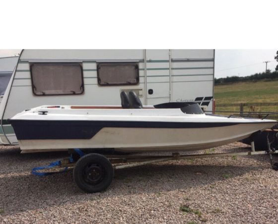 "Boat For Sale – ""14 Foot SPEED BOAT"" £1,450"