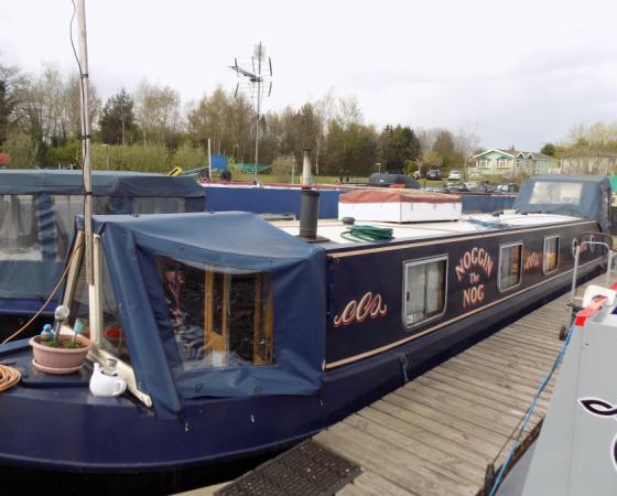 """Boat For Sale – """"NOGGIN THE NOG"""" £35,000"""