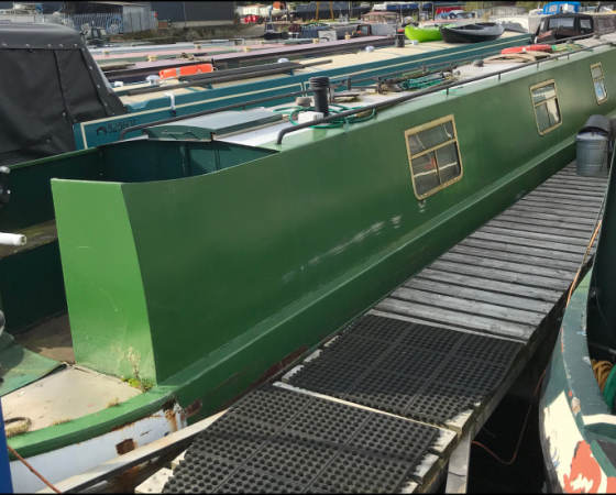 """Joint Venture"" 62 foot Narrowboat – £18,000"
