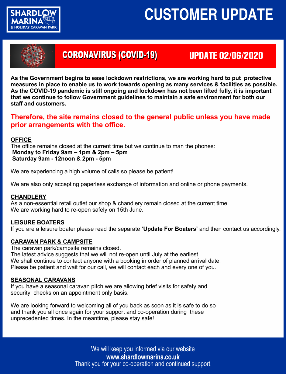 Marina COVID-19 CUSTOMER UPDATE 02-06-2020 v3