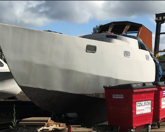 """Big Grey"" PROJECT BOAT – £OFFERS INVITED"