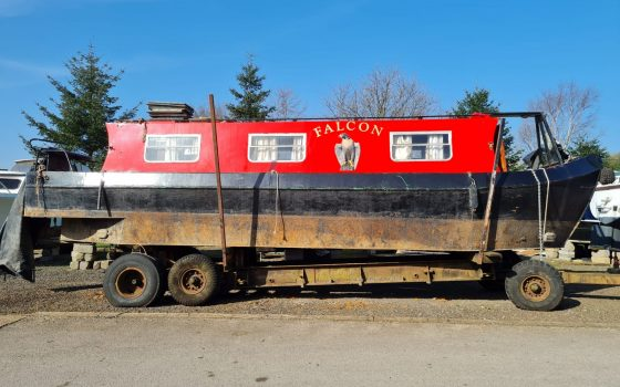"""Boat For Sale – """"FALCON"""" 31 foot Narrowboat *** NOW SOLD ***"""