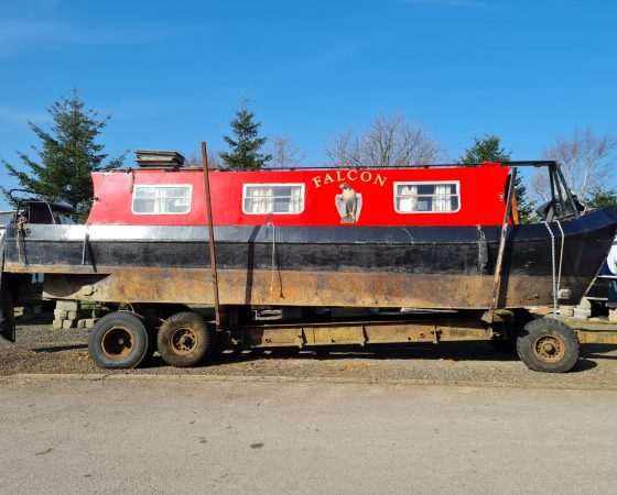 """Boat For Sale – """"FALCON"""" 31 foot Narrowboat"""