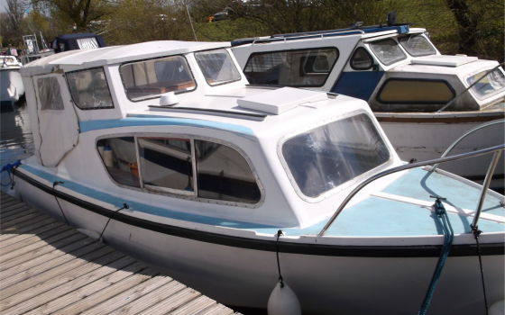"""Boat For Sale – """"PIPPIN"""" 19 Foot Fairline Cruiser ***NOW SOLD***"""