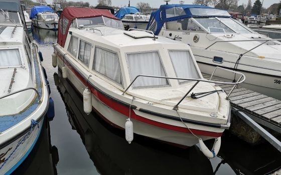 """Boat For Sale – """"SHAKEY'S DREAM"""" 23 Foot Viking Cruiser ***NOW  SOLD***"""
