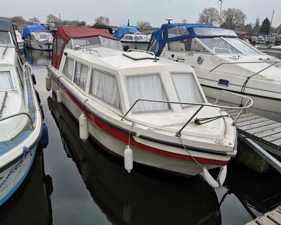 "Boat For Sale – ""SHAKEY'S DREAM"" 23 Foot Viking Cruiser"